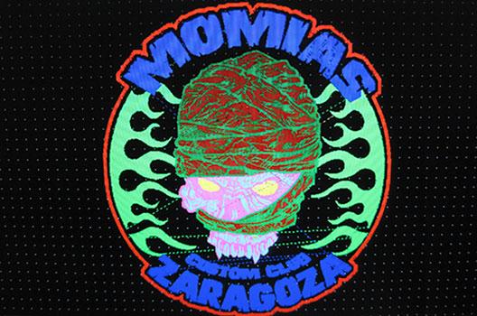 bordado agrupaciones Momias Custom Club programa bordado