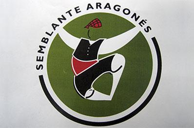 bordado semblante aragones logo grafico